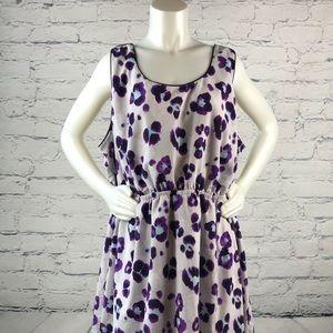 Lane Bryant Floral Dress B358